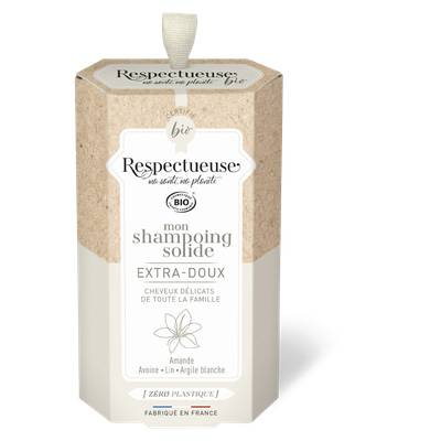 Mon Shampoing Solide Extra-Doux - RESPECTUEUSE - Cheveux