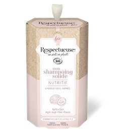 Mon Shampoing Solide Nutritif - RESPECTUEUSE - Cheveux