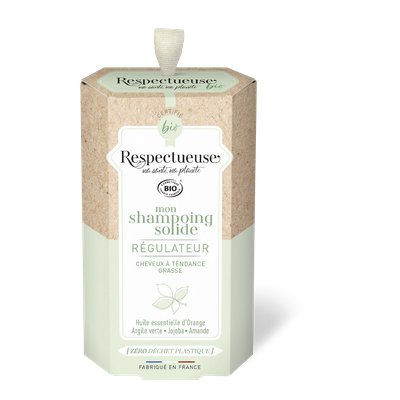 Mon Shampoing Solide Régulateur - RESPECTUEUSE - Cheveux