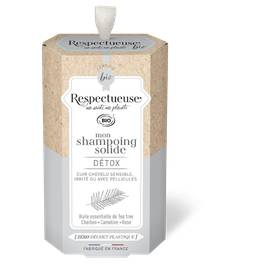 Mon Shampoing Solide Détox - RESPECTUEUSE - Cheveux