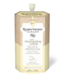 Mon Shampoing Solide Éclat & Protection - RESPECTUEUSE - Cheveux