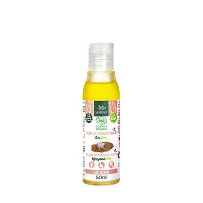 huile végétale lin BIO - messegue - Visage - Corps