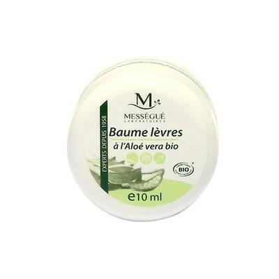 baume lèvres à l'aloe vera bio - messegue - Visage