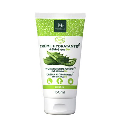 crème hydratante à Aloe vera bio - messegue - Visage