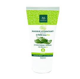 HYDRATING MASK FACE ORGANIC ALOE VERA - messegue - Face