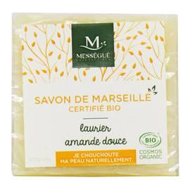 Savon de Marseille Laurier Amande - messegue - Hygiène