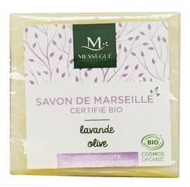 Savon de Marseille Olive Lavande - messegue - Hygiène