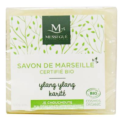 Soap of Marseille Ylang Ylang Shea - messegue - Hygiene