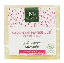 Savon de Marseille Palmarosa Calendula - messegue - Hygiène