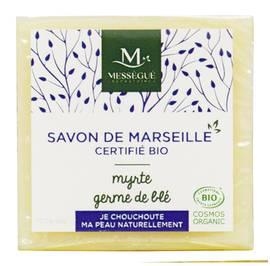 Savon de Marseille Germe de blé Myrte - messegue - Hygiène