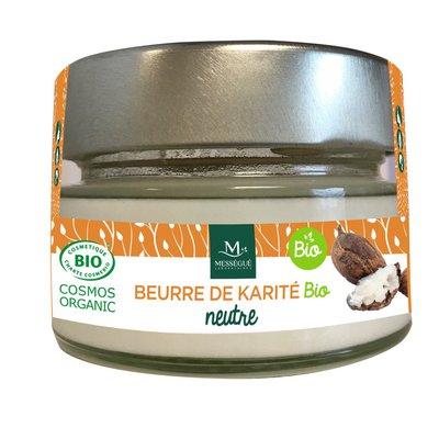 Beurre de karité neutre - messegue - Visage - Cheveux - Corps