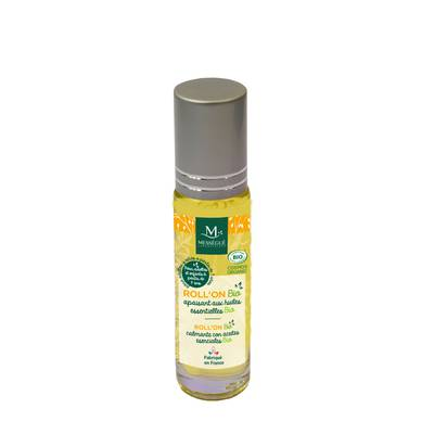 Organic Roll'On calming with organic essential oils - messegue - Health