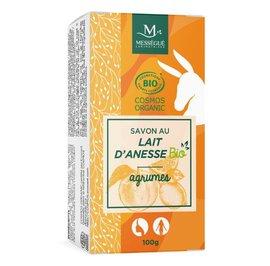 Donkey milk soap citrus - messegue - Hygiene