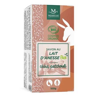 Donkey milk soap cedar and patchouli - messegue - Hygiene