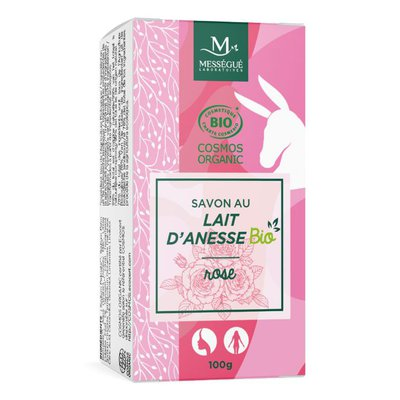 Donkey milk soap rose - messegue - Hygiene