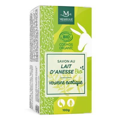 savon lait ânesse Verveine - messegue - Hygiène