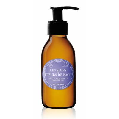 massage oil - Les Fleurs de Bach - Massage and relaxation