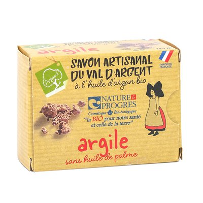 savon artisanal à l'ARGILE - ARGASOL - Hygiène