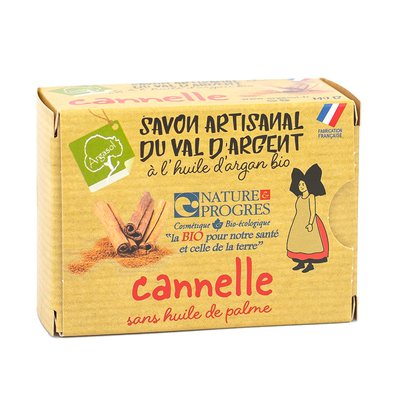savon artisanal à la CANNELLE - ARGASOL - Hygiène