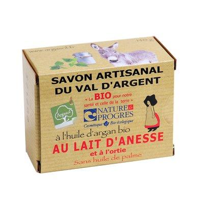 savon artisanal au lait d'ânesse et à l'ortie - ARGASOL - Hygiène