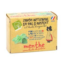 savon artisanal à la MENTHE - ARGASOL - Hygiène