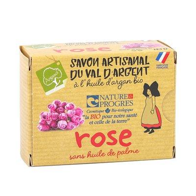 savon artisanal à la ROSE - ARGASOL - Hygiène
