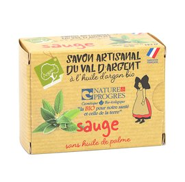 savon artisanal à la SAUGE - ARGASOL - Hygiène