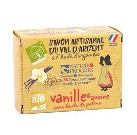 savon artisanal à la VANILLE et à l'AVOINE - ARGASOL - Hygiène