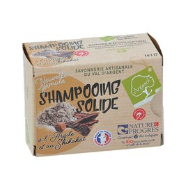 Shampooing solide à l'ARGILE - ARGASOL - Cheveux