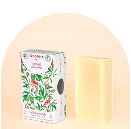 Savon doux solide lait d'amande - Neopha - Hygiène
