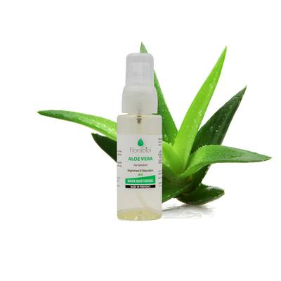 Aloe Vera oily maceration - FLORABIOL - Face - Body - Hair - Massage and relaxation