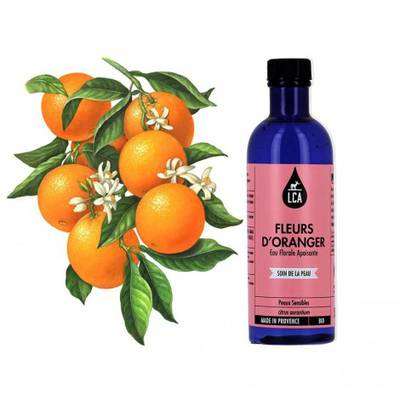 Eau florale de Fleur d'Oranger - LCA - Visage