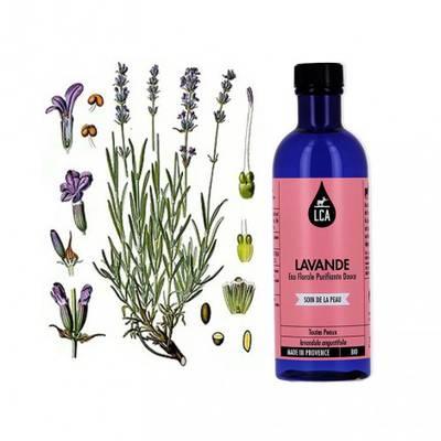 Eau florale de Lavande - LCA - Visage