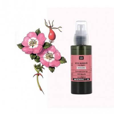 Huile de Rose musquée - LCA - Visage - Massage et détente