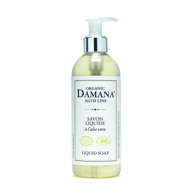 Liquid soap with aloe vera - Damana organic bath line - Hygiene