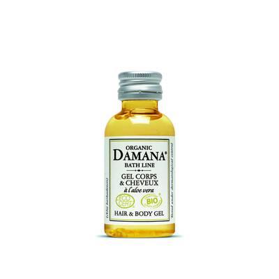Gel corps & cheveux à l'aloe vera - Damana Organic Bath Line Ecocert - Hygiène - Cheveux