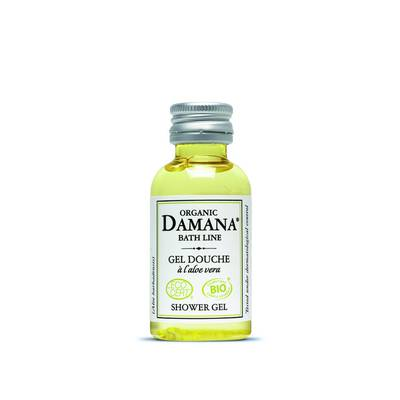 shower gel with aloe vera - Damana Organic Bath Line Ecocert - Hygiene