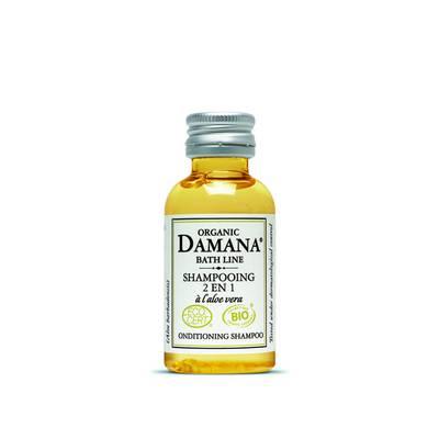 Shampooing 2 en 1 à l'aloe vera - Damana Organic Bath Line Ecocert - Cheveux