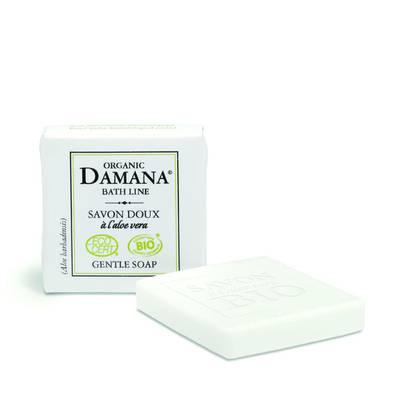 gentle soap with aloe vera - Damana Organic Bath Line Ecocert - Hygiene