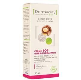 Crème SOS Ultra-Hydratante - Dermaclay - Visage