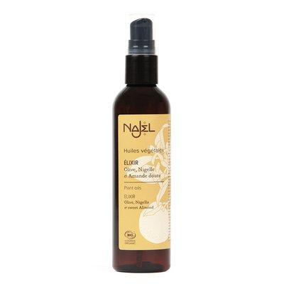 Elixir aux trois huiles - Najel - Visage - Massage et détente - Corps