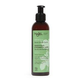 Aleppo Liquid Soap with Organic Damascus Rose Flower Water - Najel - Hygiene