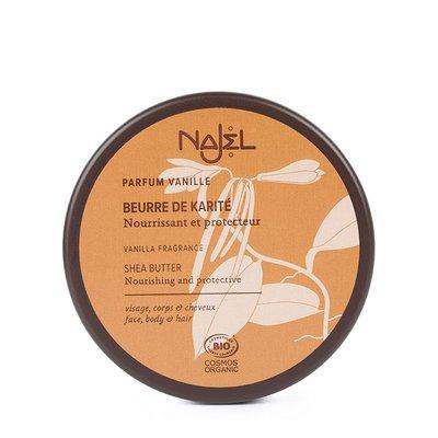 Beurre de karité à la vanille - Najel - Cheveux - Corps