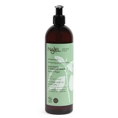 Shampooing au savon d'Alep cheveux secs - Najel - Cheveux