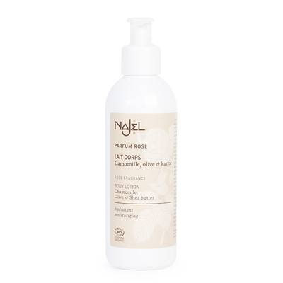 Rose Scented Body Lotion - Najel - Body