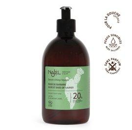 Aleppo liquid soap 20% cactus seed oil - Najel - Hygiene - Hair