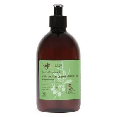 Aleppo Liquid Soap - Najel - Body - Hygiene - Hair