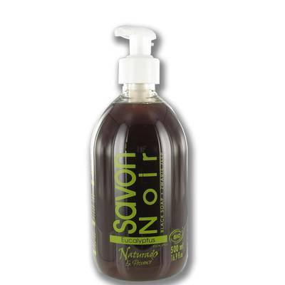ORGANIC BLACK LIQUID SOAP - Naturado en Provence - Hygiene