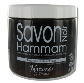 image produit Organic hamman black soap