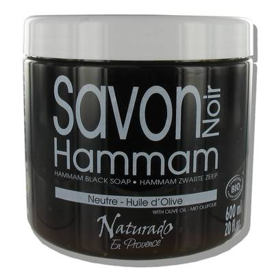 ORGANIC HAMMAN BLACK SOAP - Naturado en Provence - Hygiene